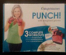Weight Watchers Punch! with Weighted Gloves 3 Complete Workouts - Dvd Fitness