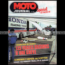 MOTO JOURNAL 556 PEUGEOT 125 TLX YAMAHA 175 IT GRAND PRIX FRANCE NOGARO 1982