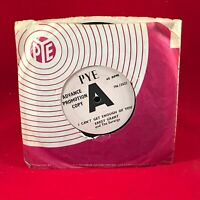 "ERKEY GRANT AND THE EARWIGS I Can't Get Enough Of You  UK 7"" vinyl DEMO single"
