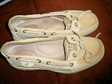 Sperry Top Sider Shoes Women's size 5 5M Tan