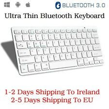 Thin Wireless Bluetooth Keyboard For iOS Apple iPad PC Windows Android Universal