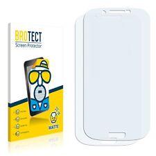 2x Displayschutzfolie Matt für FeiTeng GT-i9300 i9300 Schutzfolie Displayfolie