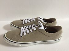Nautica Men Headway Fashion Sneaker Lace Up Low Top Sandy Bar Size 8 New