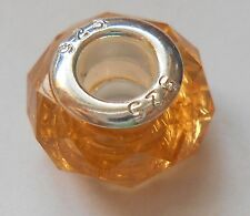 925 Sterling Silver European Big Hole Murano Glass Birthstone Beads for Bracelet