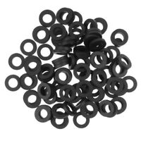 100 x Flat Gaskets O-ring Seal Silicone Rubber Water Shower Nozzle Washers