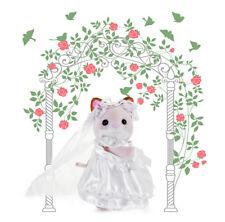 Sylvanian Families Calico Critters Arabella Keats Cat Bride