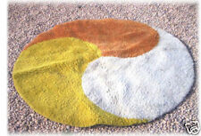 Beau tapis rond  seventies  !! 70's
