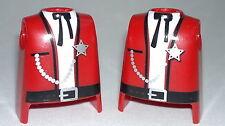 Playmobil Western Ouest Corps Shérif, Accessoires Cowboy, Corps