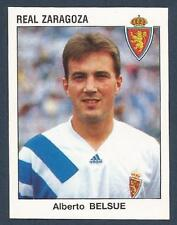 PANINI FUTBOL 93-94 SPANISH -#346-REAL ZARAGOZA & SPAIN-ALBERTO BELSUE