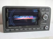 "2018 maps! Audi A3 S3 RS3 RNS-E ""S"" CHROME PIANO GLOSSY! DVD navigation sat nav"
