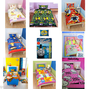 CHILDRENS DISNEY & CHARACTER SINGLE DUVET COVER SET KIDS BEDDING BEN 10 MOSHI