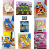 CHILDRENS DISNEY & CHARACTER SINGLE DUVET COVER SET KIDS BEDDING BEN 10 MOSHI