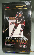 1992-93 PINNACLE NHL Factory-Sealed HOCKEY JUMBO PACK