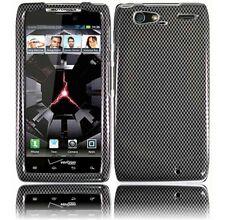 For Motorola DROID RAZR MAXX HARD Case Snap On Phone Cover Carbon Fiber