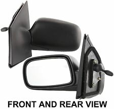 2000-2005 Toyota Echo Manual Left Side View Mirror