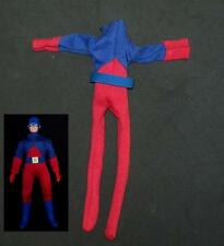 custom sewn Atom male suit for Mego scale 8 inch figure doll