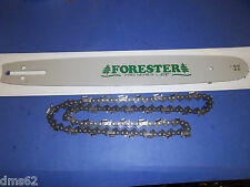 "NEW FORESTER 16"" BAR & CHAIN COMBO FITS HUSQVARNA 325 058 66L HJ1632586"