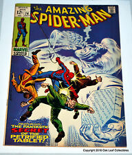 Amazing Spiderman 74 Marvel Comic 1969 NM- Last 12 cent cover