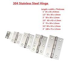 304 Stainless Steel Mini Hinge - Decorative Box Model Furniture Doors Hinges