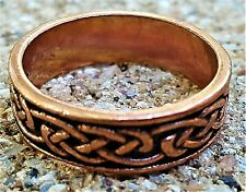 Hand Crafted Copper Ring~Forever Infinity~Copper Healing Effects~GORGEOUS RING