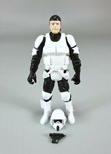 "Star Wars 3.75"" Legacy Collection Nik Sant Shield Generator Assault Figure!"