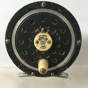 Vintage Pflueger Medalist 1494 Fly Fishing Reel PATENTED Made in USA Dimolite