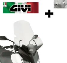 Parabrezza trasparente COMPLETO DI ATTACCHI YAMAHA X-MAX 250 2012 446DT GIVI