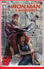All New IRON MAN & AVENGERS 4 04 Sept 2016 1/2 Marvel Panini # NEUF #