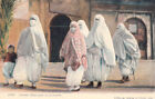 ALGERIE ALGERIA SCENES ET TYPES D'ALGERIE 1129 femme mauresques en promenade