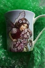 Cicely Mary Barker Flower Fairies Mug Cup Queens Fairy Faery Faerie Heliotrope