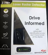 NEW!!! Whistler Z-19R Laser Radar Detector