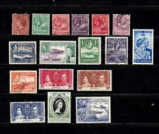 Antigua stamps, small collection of 17, mint & used, SCV $46.10