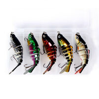 5pcs Bionic Swimming Lure Suitable For All Kinds Of Jointed Bait Multi Fish 10CM