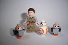 Lego Star Wars, Figur, Figuren, 4 Stück, Rey, BB-8, Porg, 75192**
