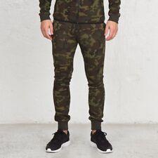 Nike Tech Fleece 'Woodland Camo' Pantalón tamaño M mediano 682852-355 2015 Q1 DEADSTOCK