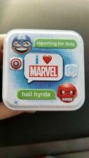 I Love Marvel Tin Magnet Card Stickers CHIBI SNAPZ Set of 4 Blind