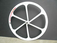 Mag  Fixed Gear/ Single Speed 700c Fixie Front Wheels - white