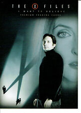 X FILES I WANT TO BELIEVE PROMOTIONAL CARD XF-1
