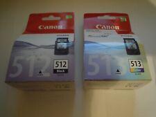 Canon pg512 negro & cl513 farbtintenpatronen PIXMA ip2700 mp230 nuevo