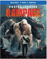 Rampage [New Blu-ray] With DVD, Standard Ed, Digital Copy