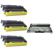 3PK TN350 Toner + 1PK DR350 Drum Unit for Brother DCP-7010 DCP-7020  DCP-7025
