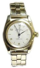 Rolex 9ct gold bubble back automatic and bracelet very clean condition cir 1940