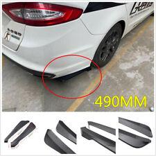 2x 490MM PP Universal Car Rear Bumper Lip Diffuser Splitter Spoiler Protector