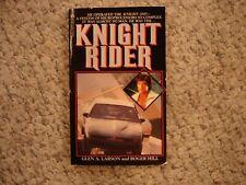 New listing Knight Rider Glen A. Larson 1St/1St Pb 1983 Tv tie in unread Hasselhoff