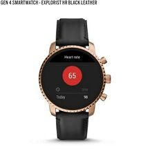 Fossil Gen 3 Q Explorist 44mm Rose Gold Stainless Steel Case with Navy Classic …