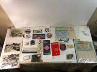 Lot of Vintage Airline propaganda from Virgin, Eastern, American and Pan-Am
