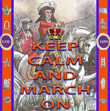 KEEP  CALM  AND  MARCH  ON   -  *NEW* -  LOYALIST/ULSTER/ORANGE CD