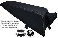 White stitch console pad & frein à main peau couvre fits TRIUMPH SPITFIRE MK3