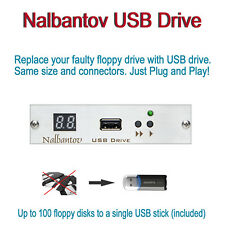 Nalbantov USB Floppy Disk Drive Emulator for AKAI S01 and AKAI S20