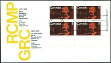Canada    # 612 LRpb     RCMP  CENTENARY    Brand New 1973 Unaddressed Covers